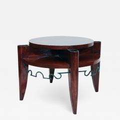 L on Jallot Art Deco Smoking Table by Leon Maurice Jallot - 1490356