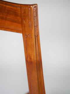 L on Jallot Leon Jallot Sculpted Walnut Desk and Chair - 1549782