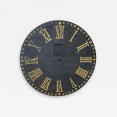 LARGE ANTIQUE CLOCK FACE - 1048545