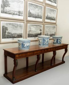 LARGE EARLY 19TH CENTURY FRENCH FRUITWOOD CONSOLE TABLE CIRCA 1825 - 1792967