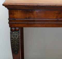 LARGE EARLY 19TH CENTURY FRENCH FRUITWOOD CONSOLE TABLE CIRCA 1825 - 1792969