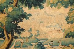 LATE 17TH CENTURY AUBUSSON VERDURE TAPESTRY - 890246