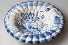 LATE 17TH CENTURY CIRCULAR FRUIT DISH WITH FLUTED EDGES - 690879