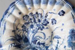 LATE 17TH CENTURY CIRCULAR FRUIT DISH WITH FLUTED EDGES - 690881