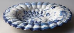 LATE 17TH CENTURY CIRCULAR FRUIT DISH WITH FLUTED EDGES - 690882