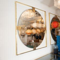 LINEAR BRASS CHANDELIER FEATURING FROSTED WHITE GLASS GLOBES - 1044571