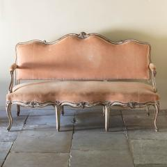 LOUIS XV PAINTED BEECH CANAP OR SOFA - 1793004