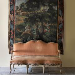 LOUIS XV PAINTED BEECH CANAP OR SOFA - 1793005
