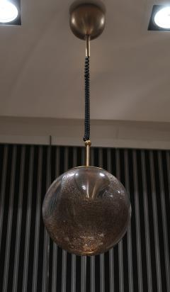 La Murrina A pair of Brass and Murano Glass Ceiling Lamps by la Murrina Italy 60 - 1084396