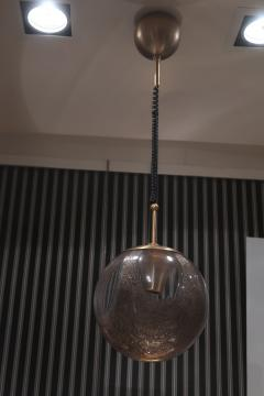 La Murrina A pair of Brass and Murano Glass Ceiling Lamps by la Murrina Italy 60 - 1084397