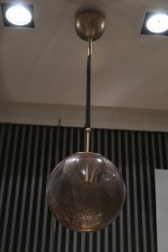 La Murrina A pair of Brass and Murano Glass Ceiling Lamps by la Murrina Italy 60 - 1084401