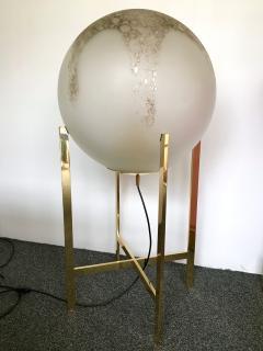 La Murrina Brass Floor Lamps by La Murrina Murano Glass Italy 1990s - 903086