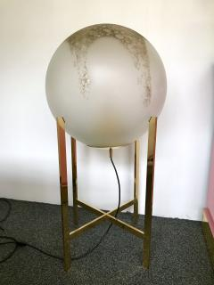 La Murrina Brass Floor Lamps by La Murrina Murano Glass Italy 1990s - 903091
