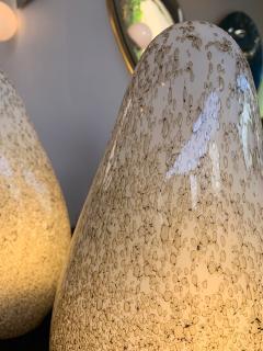 La Murrina Pair of Glass Lamps by La Murrina Italy 1970s - 1164435
