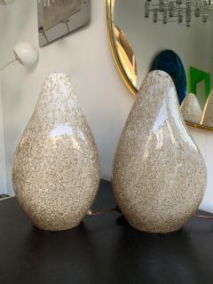 La Murrina Pair of Glass Lamps by La Murrina Italy 1970s - 1164437