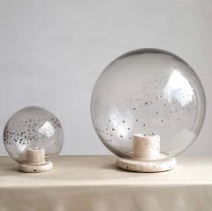 La Murrina Table lamps in travertine and blown glass - 2071466