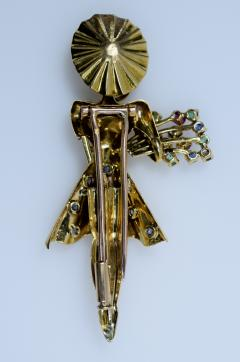 Lacloche Fr res J LaCloche Figural Brooch - 438577