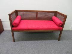 Lacquered Wood Painted Cane Upholstery - 1684895