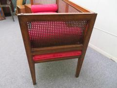Lacquered Wood Painted Cane Upholstery - 1684899