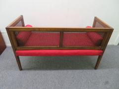 Lacquered Wood Painted Cane Upholstery - 1684900