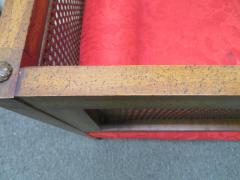 Lacquered Wood Painted Cane Upholstery - 1684901