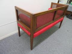 Lacquered Wood Painted Cane Upholstery - 1684902