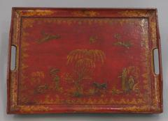 Lacquered and Gilded Tray - 1035700