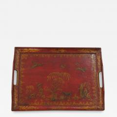Lacquered and Gilded Tray - 1036582