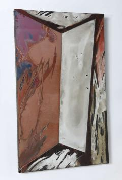 Laddie John Dill American Expressionist Oil Glass and Mixed Media Painting Laddie John Dill - 358374
