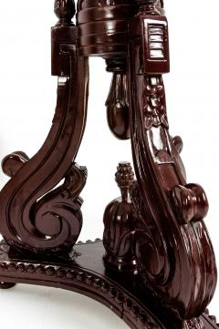 Laminated Wood Georges III Style Pedestal Stand - 1125611