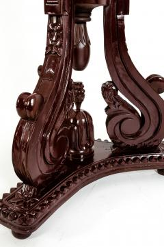Laminated Wood Georges III Style Pedestal Stand - 1125613