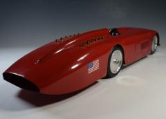 Land Speed Record Sunbeam Streamlined Race Car Daytona Beach - 1634926