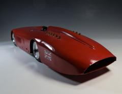 Land Speed Record Sunbeam Streamlined Race Car Daytona Beach - 1634953