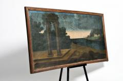 Landscape Oil Painting from Italy - 1025186