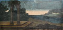 Landscape Oil Painting from Italy - 1025706