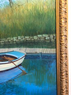 Landscape With Boat On The Lake - 1025006