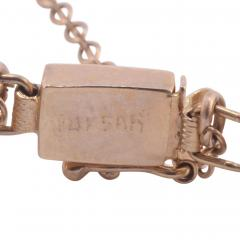 Lapis Lazuli Bar Link 14K Bracelet - 2074813