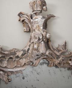 Large 18th century theatrical rococo mirror in the manner of Mathias Locke  - 1107149
