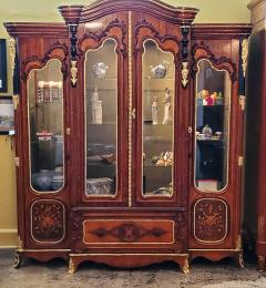 Large 19 Century French Rococo or Neoclassical Revival Style Vitrine - 1659865