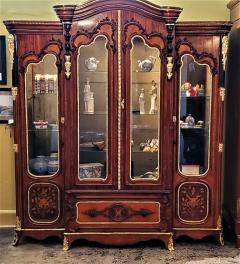 Large 19 Century French Rococo or Neoclassical Revival Style Vitrine - 1659867