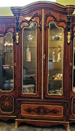 Large 19 Century French Rococo or Neoclassical Revival Style Vitrine - 1659870