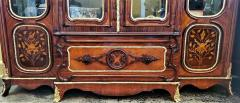 Large 19 Century French Rococo or Neoclassical Revival Style Vitrine - 1659872