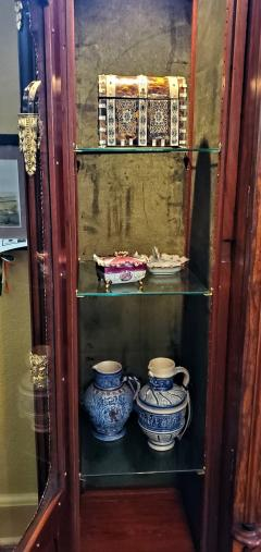 Large 19 Century French Rococo or Neoclassical Revival Style Vitrine - 1659881