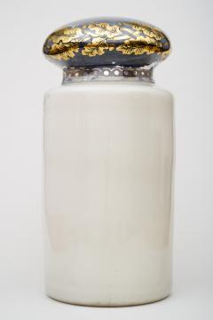 Large 19th C Pharmacy reversed painted Display Dispensing Jar - 1866930