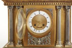 Large 19th Century French Bronze Figural Chariot Clock - 2108269