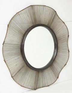 Large 60 Brutalist Style Mirror - 1620410