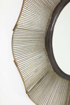 Large 60 Brutalist Style Mirror - 1620416