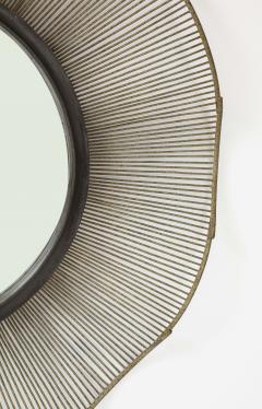 Large 60 Brutalist Style Mirror - 1620417