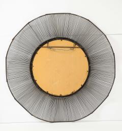 Large 60 Brutalist Style Mirror - 1620425