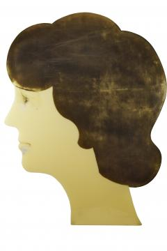 Large Advertising Profile of a Womans Head - 1790738